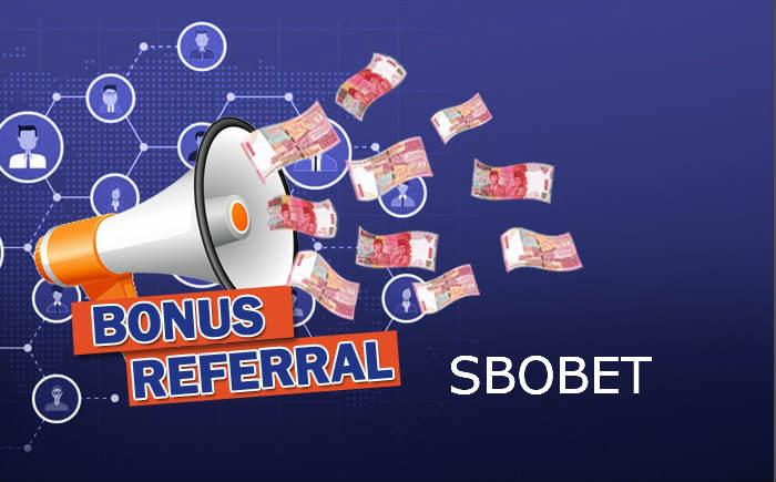 bonus referral dari akun sbobet